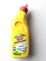 Средство для чистки унитазов W5 (лимон) 1 л