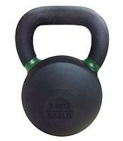 Гиря чугунная 28 кг Rising Premium Kettelebell для дома и спортзала