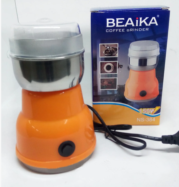 Кофемолка электроимпульсная BEAiKA NS-384 150Вт