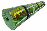 Детский коврик 3000×1100×8мм, «Городок»,теплоизоляционный, развивающий, игровой коврик.