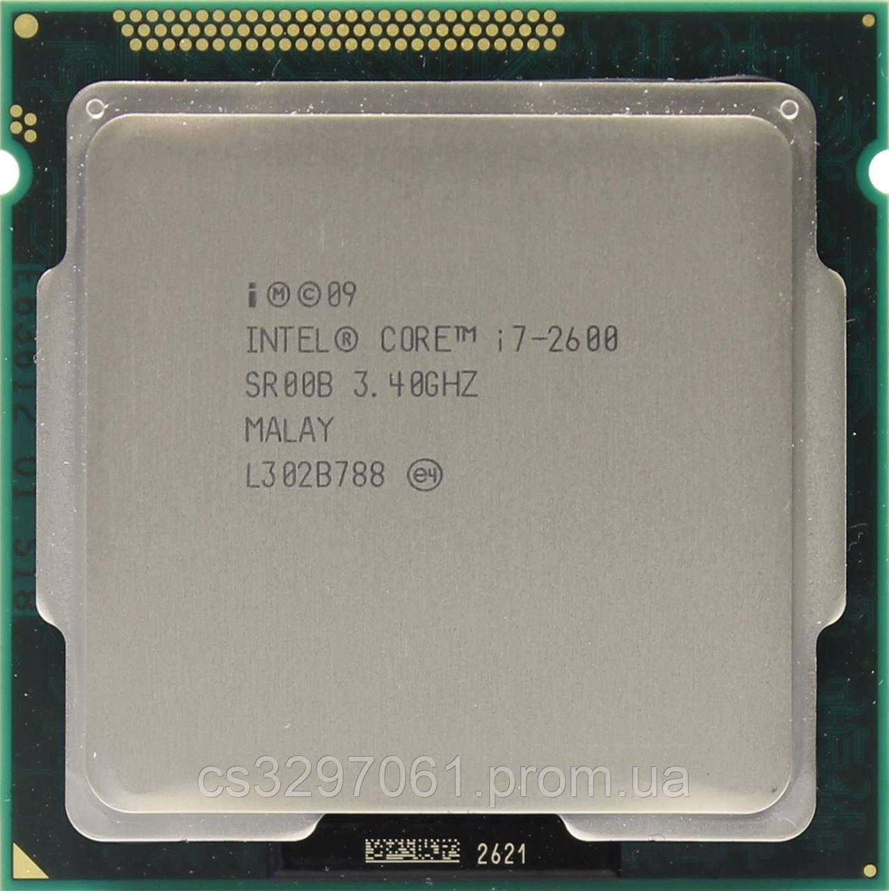 Процессор Intel Core i7-2600 Socket 1155