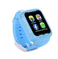 Smart Watch K3 Синие | Умные детские часы с GPS трекером