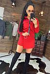 Женский костюм юбка - шорты и бомбер на молнии 4410504, фото 3