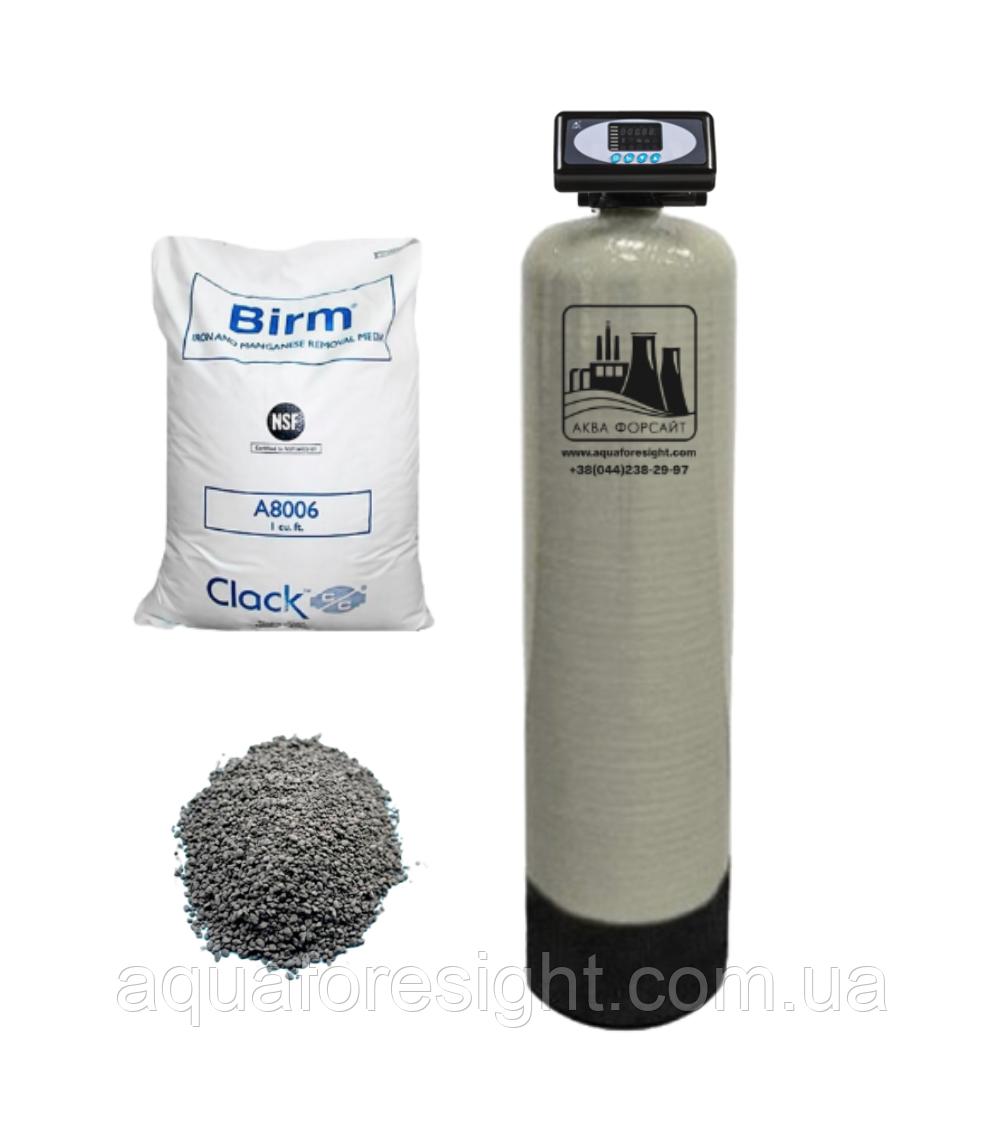 Фильтр обезжелезивания воды 10x54 (Birm) до 0,8 м3/час