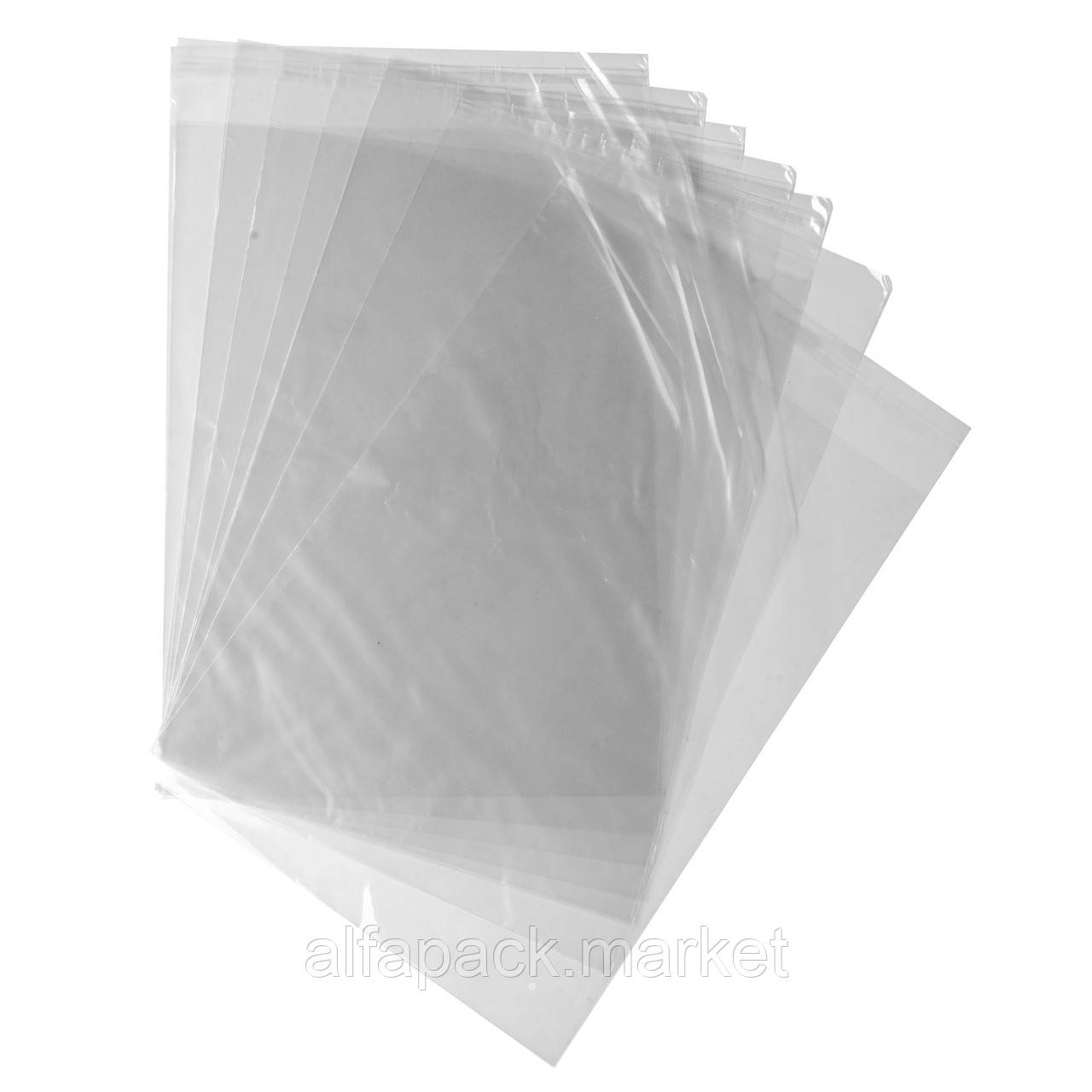 Пакет полипропиленовый 150*150 без липкой ленты (1000 шт в упаковке)