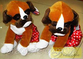 Мягкая игрушка Собака боксер 56003-21