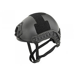 Fast MH helmet replica with quick adjustment - Black, Emerson