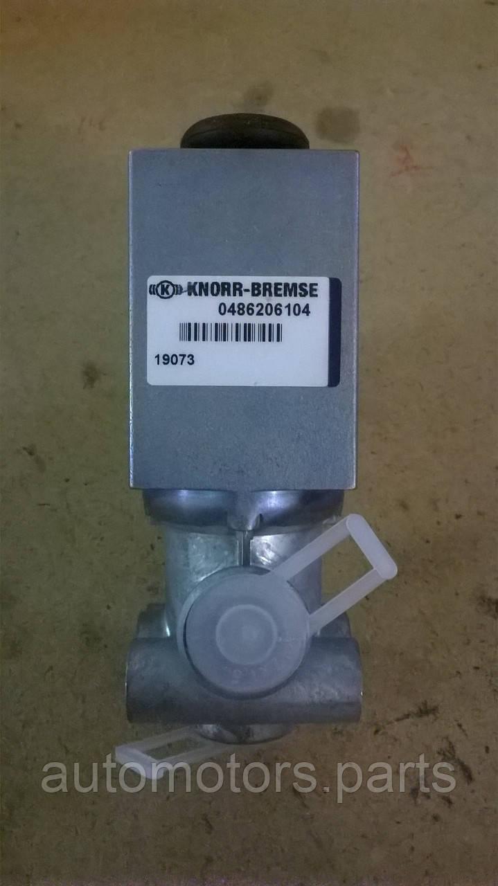 Электромагнитный клапан 0486206104 Knorr-Bremse