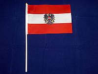 Флажок Австрии 13x20см на пластиковом флагштоке