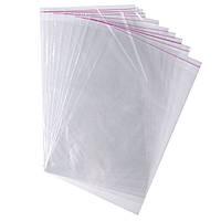 Пакет полипропиленовый с липкой лентой и отверстием 250*350 (1000 шт. в упаковке) 030000424