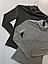 Женский трикотажный гольф темно серого цвета Lounge Dark Grey, фото 2