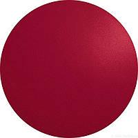 Підкладка під тарілку сервірувальна Asa коло 38 см червона шкіра 7858420