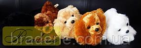 Мягкая игрушка собака болонка 96001