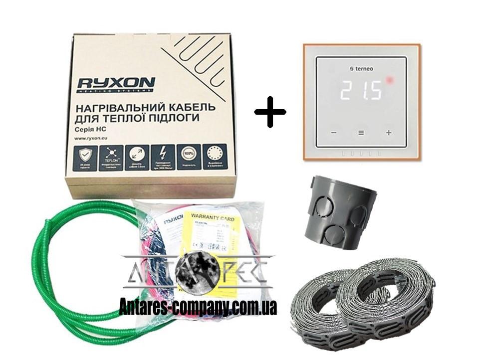 Кабель Ryxon HC-20 (0.5 м2) в комплекте с сенсорным регулятором Terneo S  (KIT3301)