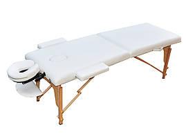 Масажний стіл розкладний ZENET ZET-1042 WHITE : розмір L ( 195*70*61)