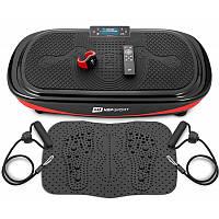 Виброплатформа Hop-Sport 4D HS-095VS Crown+ массажный коврик+ пульт управления/часы для дома и спортзала