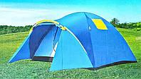 Палатка кемпинговая LANYU 2712 3-х местная 3 дуги