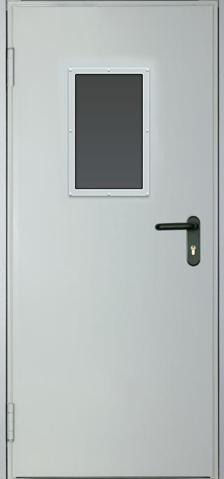 Противопожарные двери EI 30. Стеклопакет 600х400 мм