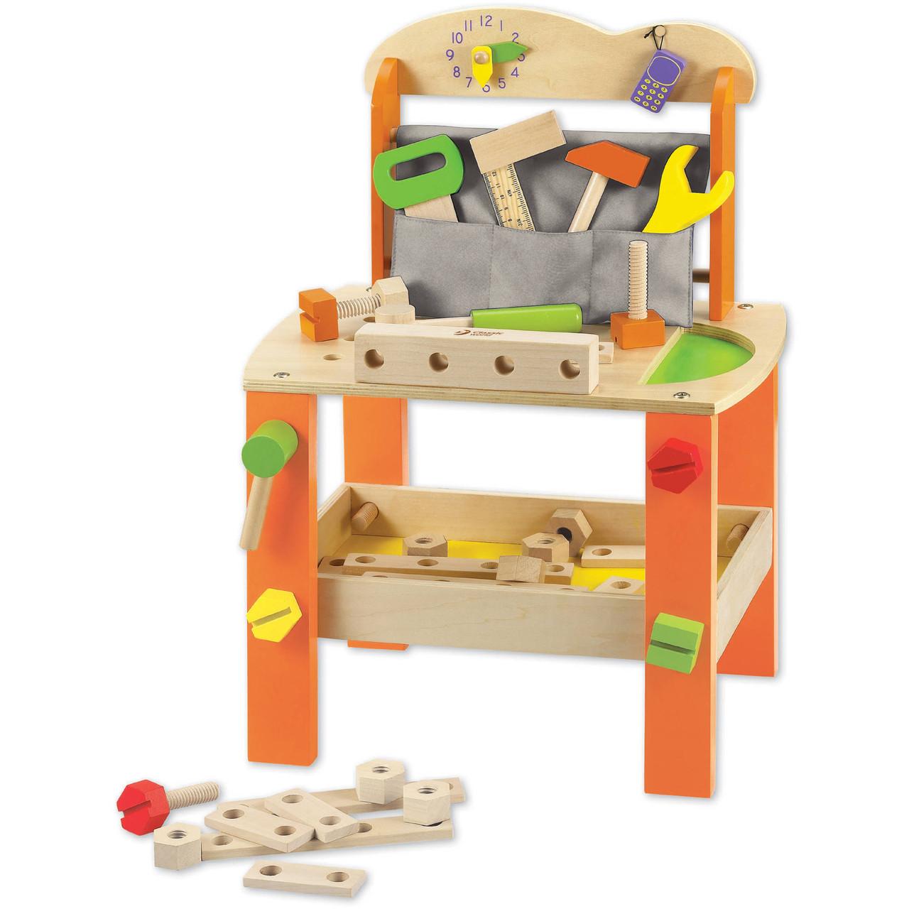Деревянная игра набор столик плотника Classic World