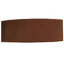 Резинка тканая плотная 040мм цв коричневый (уп 25м) 3491 Укр-б