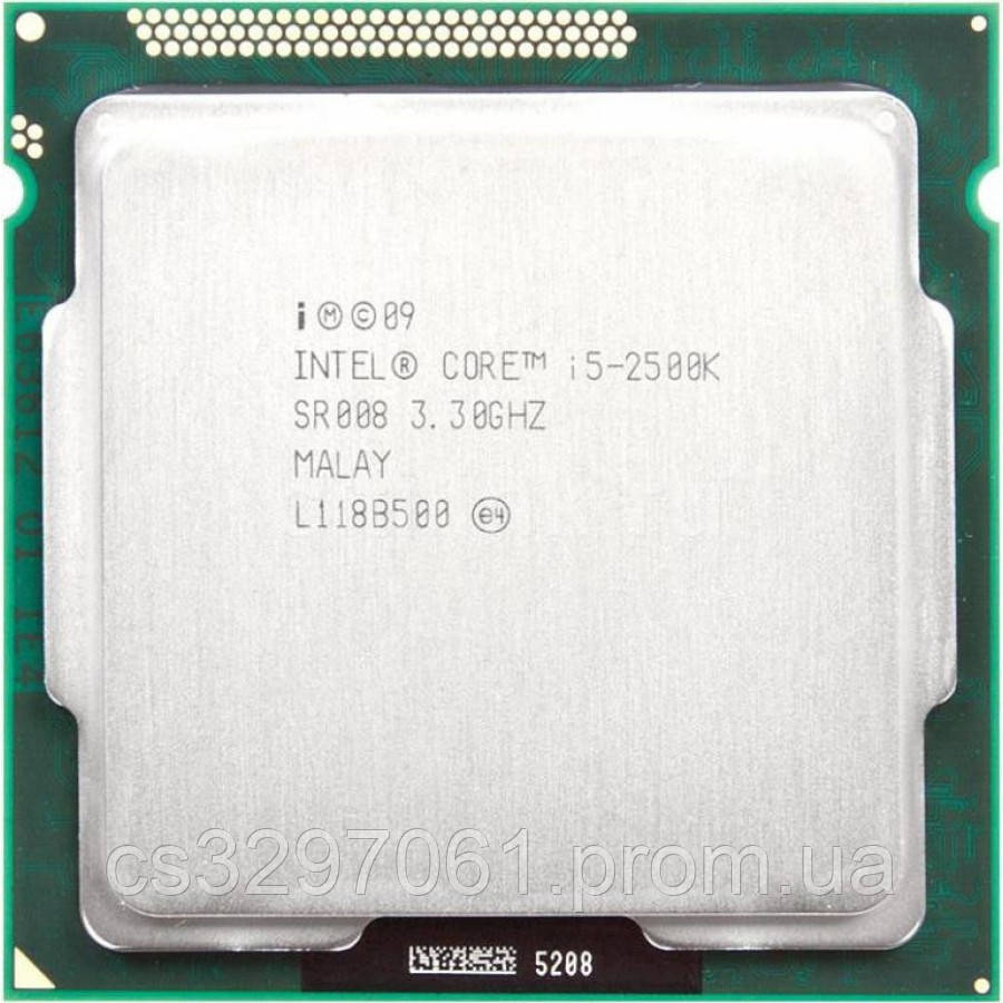Процессор Intel Core i5-2500K Socket 1155