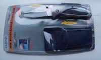 Нож складной с клипсой + чехол 855, Ножи складные, Ножі складні