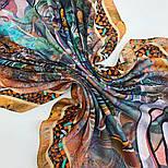 10195-16, павлопосадский платок из вискозы с подрубкой 80х80, фото 7