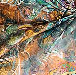 10195-16, павлопосадский платок из вискозы с подрубкой 80х80, фото 8