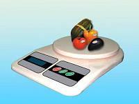 Электронные кухонные весы 10кг, Весы кухонные, Ваги кухонні