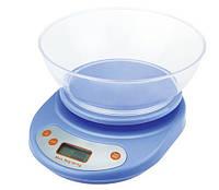 Кухонные электронные весы до 5 кг с чашей EK01, Кухонні електронні ваги до 5 кг з чашею EK01