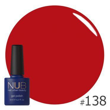 Гель-лак NUB CASUAL RED 138