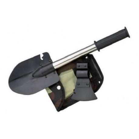 Саперная Лопата 5 в 1 + Нож Топор Пила Открывашка, Саперна Лопата 5 в 1 + Ніж Сокира Пила Відкривачка