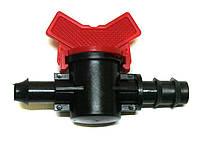 Кран стартовий з гумкою без підтискання для кап. трубки діам. 16 мм - Туреччина