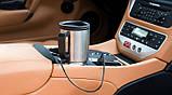 Термокружка с подогревом для авто 12v Car Mug, автомобильная термокружка, кружка с подогревом, термокружка от, фото 3