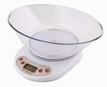 Весы электронные кухонные SCALE EK02, весы кухонные, кухонные электронные весы, весу кухонные с чашей