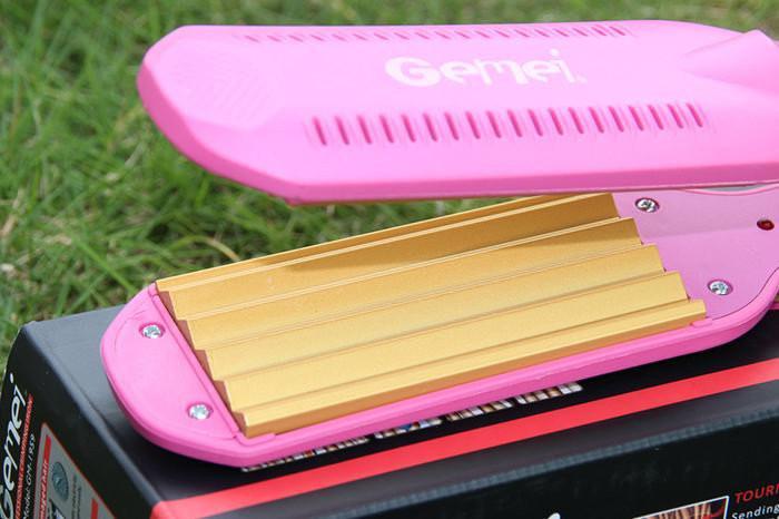 Гофре Gemei GM 1959, утюжок, выпрямитель для волос, Выпрямитель для волос
