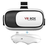 Очки виртуальной реальности VR BOX 2.0 3D c пультом в подарок, Очки виртуальной реальности, Окуляри віртуальної реальності