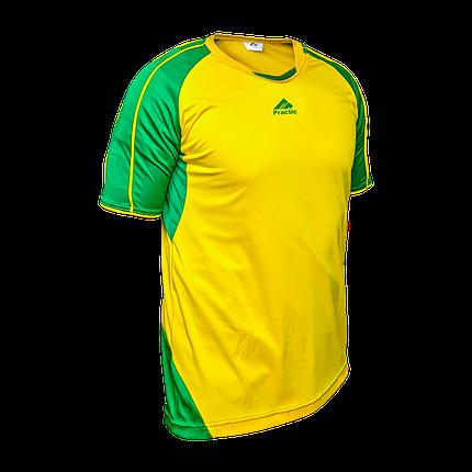 Форма футбольна Practic M, L, XL, XXL Жовто-Зелена, фото 2