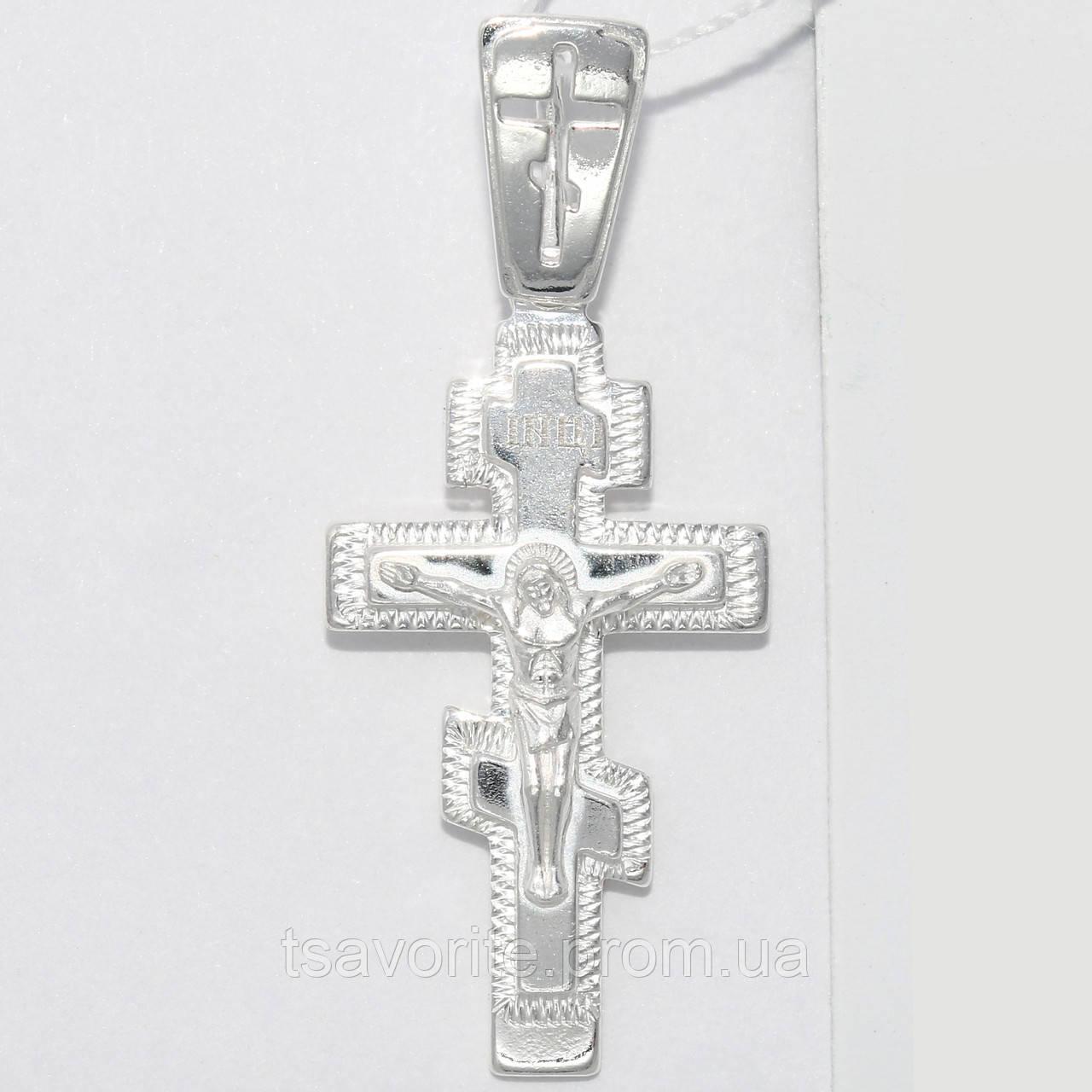 Серебряный крестик ВКХ-12