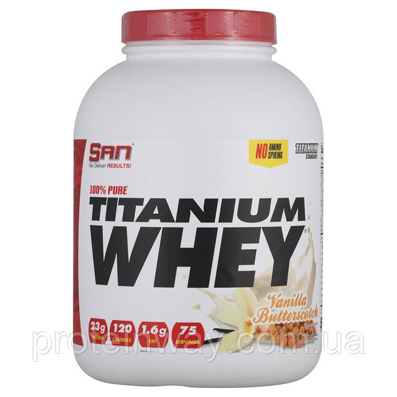 SAN Сывороточный протеин 100% Pure Titanium Whey 2270 г