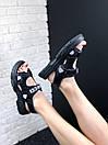 Женские босоножки Gucci Sandals Black, фото 6