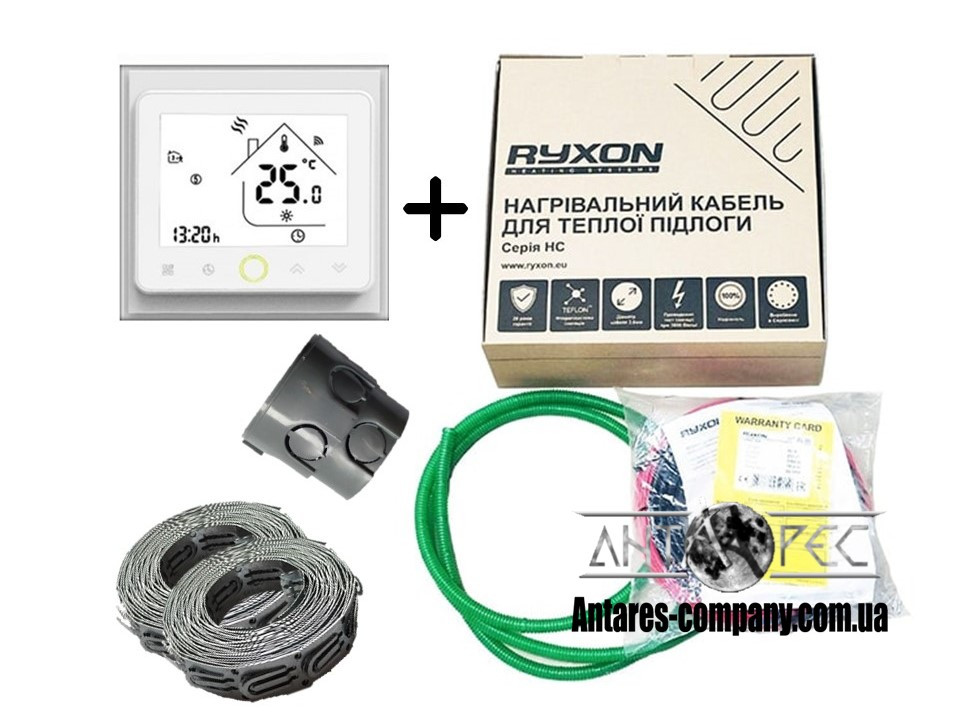 Кабель Ryxon HC-20 (3.5 м2) в комплекте с WI-FI thermostat TWE02 (KIT3507)
