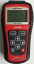 Автомобільний діагностичний сканер-адаптер OBD II/E OBD KW808, фото 2
