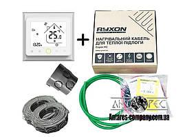 Двухжильный кабель Ryxon HC-20 обогрев (6 м2) в комплекте с WI-FI thermostat TWE02 (KIT3511)