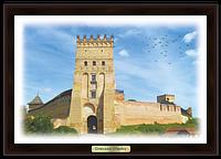 "Еко-картина  Луцьк. ""Луцький замок """