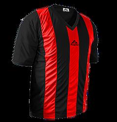 Форма футбольна Practic M, L, XL, XXL Червоно-Чорна