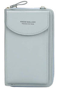 Сумочка Клатч гаманець жіночий Baellerry Forever Young сірий
