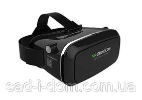 3D очки виртуальной реальности VR BOX Shinecon с пультом Black
