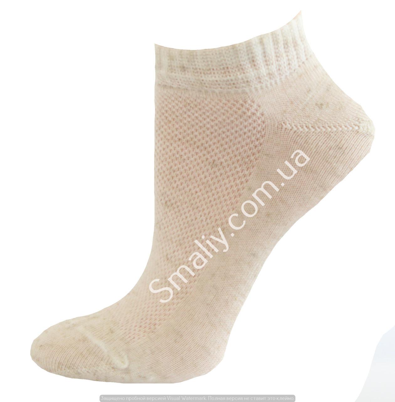Детские летние носки из льна