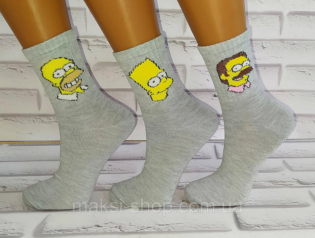 Шкарпетки дитячі бавовняні 1 пара 29-35 раз (U181)